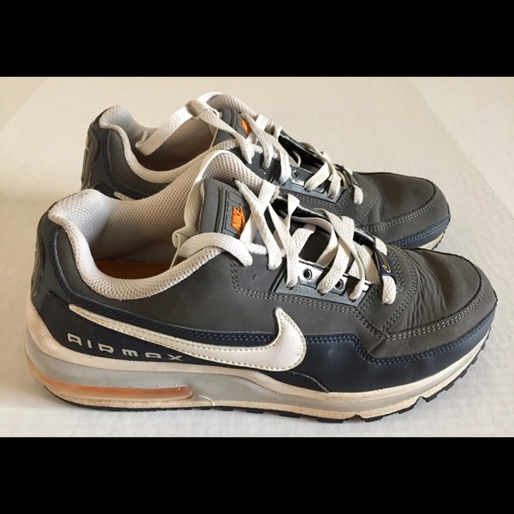 new styles 00a14 b2285 NIKE Air Max LTD Limited Gray Blue Shoes Sz 8.5. M 5c7e00f77386bc5978fc7cf8